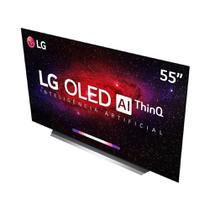 "Smart TV LG 55"" OLED UHD 4K Controle Smart Magic OLED55CXPSA -"