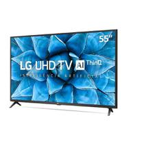 "Smart TV LG 55"" UHD 4K Controle Smart Magic ThinQ Ai 55UN7310PSC -"
