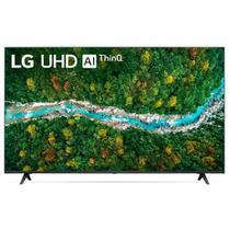 Smart TV LG 60   4K UHD 60UP7750 WiFi Bluetooth HDR Al ThinQ Alexa Smart Magic Preto Bivolt -