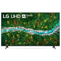 Smart TV LG 60'' 4K UHD 60UP7750 WiFi Bluetooth HDR IAl ThinQ Smart Magic Preto Bivolt -