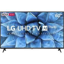 Smart TV LG 60'' 4K UHD Wi-Fi Bluetooth HDR Inteligência Artificial ThinQ AI Google Assistente Alexa -