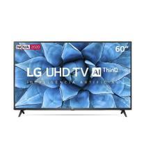 Smart TV LG 60'' 4K UHD Wi-Fi Bluetooth HDR Inteligência Artificial ThinQ AI Google Assistente Alexa