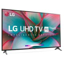 "Smart Tv LG 60"" UHD 4K Controle Smart Magic ThinQ Ai 60UN7310PSC -"