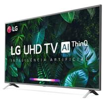 "Smart Tv LG 75"" UHD 4K Controle Smart Magic ThinQ Ai 75UN8000PSB -"