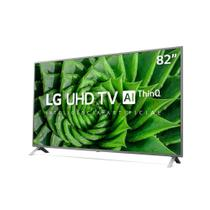 "Smart TV LG 82"" UHD 4K Controle Smart Magic ThinQ Ai 82UN8000PSB -"