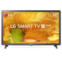 """Smart TV LG LCD 32"""" com Comandos de Voz, WebOS 4.5, Upscaler HD, HDR Ativo e Wi-Fi Preta - 32LM625BPSB -"""