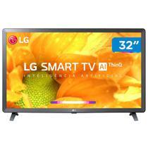 "Smart TV LG LCD/LED 32LM625BPSB 32"" HD HDR Ativo ThinQ AI Virtual Surround Sound Bivolt Ceramic Black -"