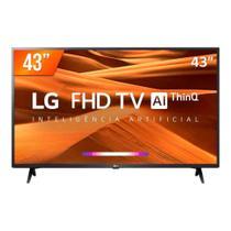 Smart TV LG LED 43 FHD HDMI USB Bluetooth Wi-Fi ThinQ AI 43LM631C0SB.BWZ -