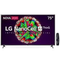 "Smart TV LG NanoCell 75"" Led Ultra HD 4K 75NANO79SNA -"