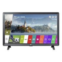 Smart TV Monitor 24' LG LED LCD HD 24TL520S-PS Wi-Fi Integrado webOS 3.5 DTV 2 HDMI 1 USB -