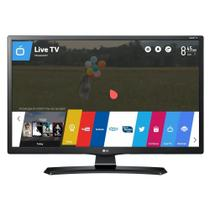 Smart TV Monitor LG 24 HD Wi-Fi integrado USB 2 HDMI 24MT49S