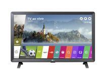"""Smart TV Monitor LG 24"""" LCD LED HD HDMI USB - Preto - Bivolt - 24TL520S-PS -"""
