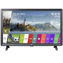 Smart TV Monitor LG 24 Polegadas LED Wi-Fi web OS 3.5 DTV Time Machine -