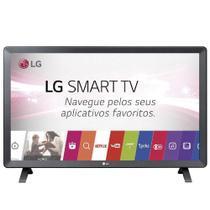 Smart TV Monitor LG 24 Polegadas LED Wi-Fi WebOS 3.5 DTV Time Machine 24TL520S -