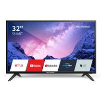 Smart TV Multilaser 32 HD LCD Wi-Fi USB HDMI Com conversor Digital - TL031 -