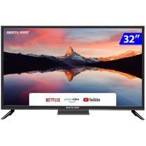 Smart TV Multilaser LED 32 HD Wi-Fi Linux HDMI TL026 -