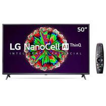 """Smart TV NanoCell 4K LG LED 50"""" com ThinQAI, Google Assistente e Wi-Fi - 50NANO79SND -"""