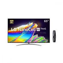 Smart TV Nanocell 65  65NANO96SNA UHD 8K Blueooth HDR Painel IPS Thinq AI Google Assistente Alexa IOT LG -