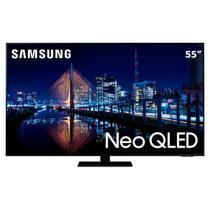"""Smart TV Neo QLED 55"""" 4K Samsung 55QN85A, Mini Led, Painel 120hz, Processador IA, Som em Movimento, Tela sem limites, Design slim, Alexa built in -"""