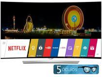 """Smart TV OLED 3D 55"""" LG 55EG9600 Ultra HD - Conversor Integrado 4 HDMI 3 USB Wi-Fi 4 Óculos"""