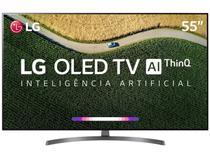 "Smart TV OLED 55"" 4K LG ThinQ AI HDR 4 HDMI 3 USB Wi-Fi -"