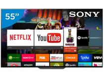 "Smart TV OLED 55"" Sony 4K/Ultra HD Gamer XBR-55A8F - Android Conversor Digital Wi-Fi 4 HDMI 3 USB DLNA"