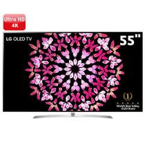 "Smart TV OLED 55"" Ultra HD 4K LG OLED55B7P com Sistema WebOS 3.5, Wi-Fi, HDR, Dolby Vision, Billion Rich Colors, Control -"