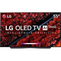 "Smart TV OLED LG 55"" OLED55C9 UHD 4k, ThinQ AI, Webos 4.5, Dolby Atmos, Processador Alpha9 -"