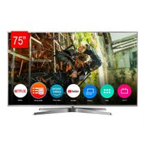 "Smart TV Panasonic LED 4K UHD HDR TC-75GX880B, 75"", Processador HCX PRO, Bluetooth, HDMI, USB -"