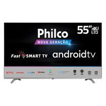 "Smart TV Philco 55"" PTV55Q20AGBLS 4K Led Android -"