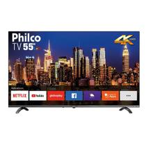 "Smart TV Philco 55"" PTV55Q20SNBL 4K LED - Bivolt - Samsung"