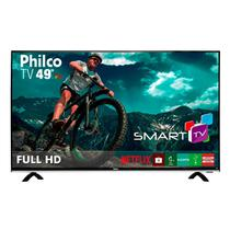 Smart TV Philco LED 49 Polegadas com Full HD Wi-Fi USB HDMI e Conversor Digital PTV49E68DSWN
