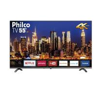Smart Tv Philco PTV55Q20SNBL 55 Polegadas LED Ultra HD 4k HDR Borda Infinita Cinza Bivolt