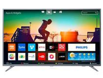 "Smart TV Philips 55"" Ultra Slim LED Ultra HD 4K - Prata - 55PUG6513/78 -"