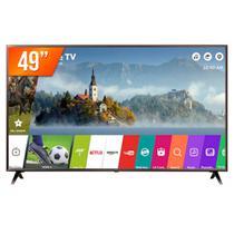 "Smart TV PRO LED 49"" 4K Ultra HD LG 49UK631C 3 HDMI 2 USB Wi-Fi -"