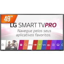 Smart TV PRO LED 49 Full HD LG 49LJ551C 2 HDMI USB Wi-Fi Conversor Digital