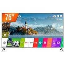 Smart TV PRO LED 75 4K Ultra HD LG 75UK651C 4 HDMI 2 USB Wi-Fi -