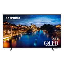 "Smart TV QLED 4K Samsung 55"", Pontos Quânticos, Tela Ultra-Wide, Alexa built in e Wi-Fi - 55Q60AA -"