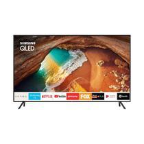Smart TV QLED 55 Polegadas Samsung 65Q60 Ultra HD 4K com conversor Digital 4 HDMI 2 USB Wi-Fi Modo Ambiente 120Hz QN55Q80RAGXZD -