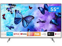 "Smart TV QLED 55"" Samsung 4K/Ultra HD Q6FN - Tizen Modo Ambiente Linha 2018"