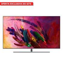 """Smart TV QLED 75"""" 4k Samsung QN75Q7FNAGXZD 4 HDMI 3 USB Wi-Fi Prata -"""