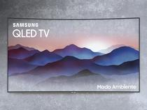 """Smart TV QLED Curva 65"""" Samsung 4K/Ultra HD - QN65Q8CNAGXZD Tizen Modo Ambiente Linha 2018"""