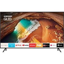"Smart TV QLED Samsung 49"" 49Q60R UHD 4K, Pontos Quânticos, HDR 500, Modo Ambiente, 4 HDMI, 2 USB -"
