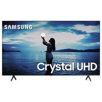 "Smart TV Samsung 55"" TU7020 Crystal UHD 4K 2020 Bluetooth Borda ultrafina Cinza Titan -"