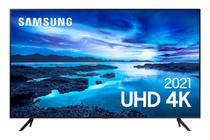 "Smart TV Samsung 55"" UHD 4K 55AU7700, Processador Crystal 4K, Tela sem limites, Visual Livre de Cabos, Alexa built in, Controle Único -"