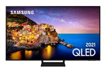 "Smart TV Samsung 85"" QLED 4K 85Q70A,  Modo Game, Processador IA, Som em Movimento Virtual, Tela sem limites, Design slim, Alexa built in -"