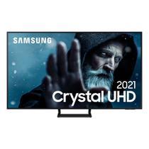Smart TV Samsung Crystal UHD 4K 55AU9000 Design Slim Som em Movimento Virtual Visual Sem Cabos -