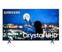 Smart TV Samsung Crystal UHD 4K TU7000 58 Borda ultrafina Controle Remoto Único Bivolt -