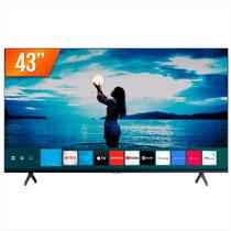 "Smart TV Samsung LED UHD 4K 43"" Crystal UN43TU7020GXZD -"