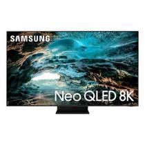Smart TV Samsung Neo QLED 8K 75QN800A Ultrafina Mini Led Processador IA Som em Movimento Plus -